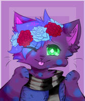 Purplenight (+SPEEDPAINT) :GIFT: by pyronee