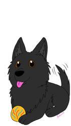 My baby boy Konrad by magicwolf2012
