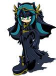 Mana dark witch by Gabriel-black-cat