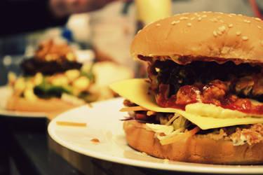 Homemade Burger by Nielio