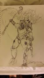 Drunken Typhus drawing by ShortBusStudios
