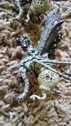 40k Plague Drone WIP by ShortBusStudios