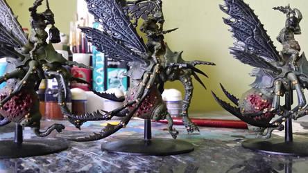 Plague Drone WIP (continued) by ShortBusStudios