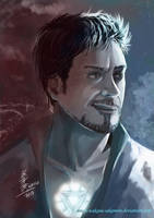 Tony Stark by wakana-sakamoto