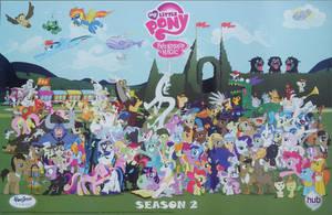 Season 2 Cast Poster by PixelKitties