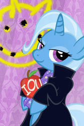 Galacon/ Bronies For Good Charity Auction Trixie by PixelKitties