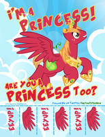 Peter New / Princess Big Macintosh Request by PixelKitties