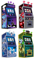 Friendship is Magic Gambling Machines by PixelKitties
