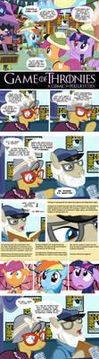 Game of Thronies Comic by PixelKitties