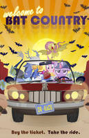 Welcome To Bat Country by PixelKitties