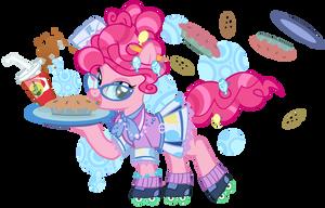 1950s Pinkie Pie- Pi Day 2014 by PixelKitties