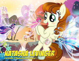 Natasha Levinger Autograph Pic by PixelKitties