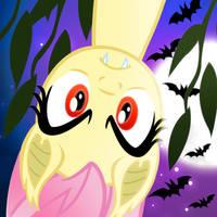 Flutterbat Hangs Around by PixelKitties