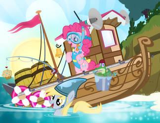Pinkie Pie's Ocean Adventure by PixelKitties