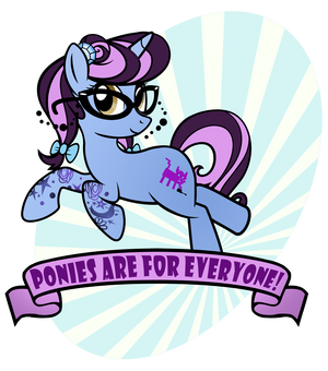 Ponies Are For Everyone by PixelKitties