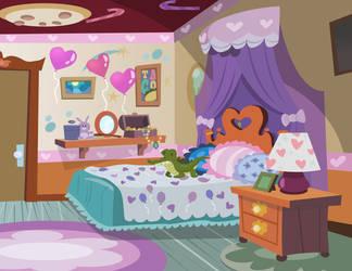 Pinkie Pie's Bedroom by PixelKitties
