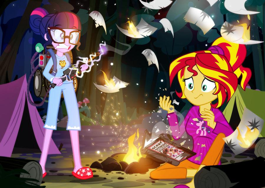 Sleepaway Camp Book Massacre 3 by PixelKitties