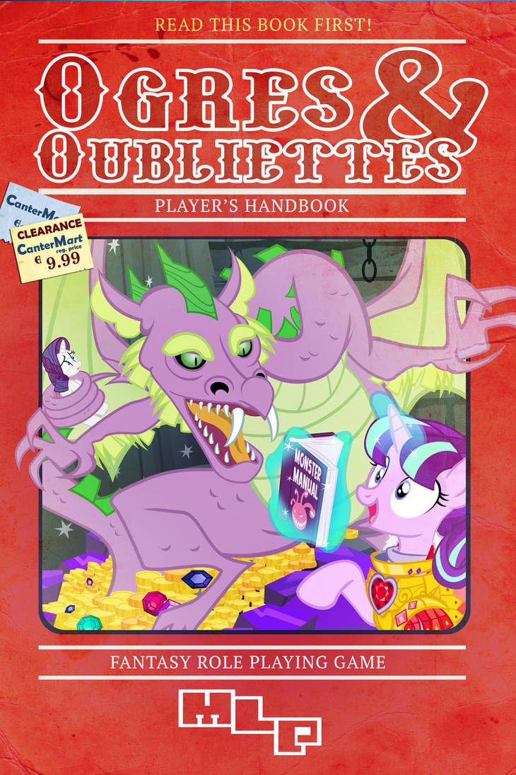 Ogres and Oubliettes Players Handbook by PixelKitties
