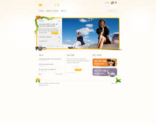 Sunglasses website by iPri