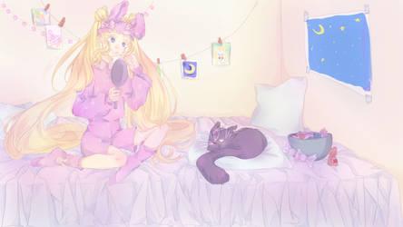 Sailor Moon by Korzha