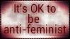 Anti-feminism by fuckshiru