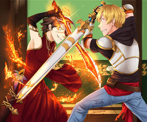 [V5] Fighting the flamestress by InsertSomthinAwesome