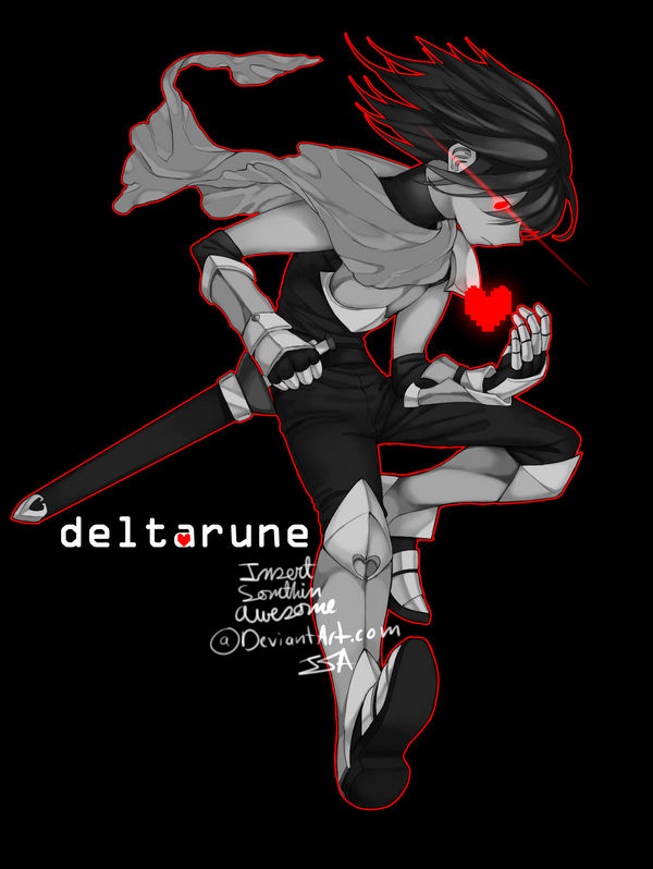 DELTARUNE SPOILERS!!] Chara??? by InsertSomthinAwesome on DeviantArt