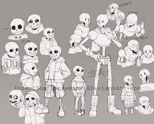 Practicing a skeleton by InsertSomthinAwesome