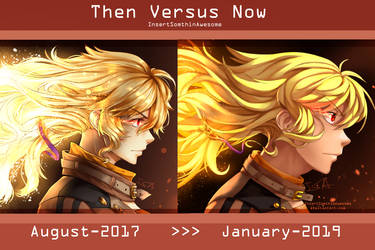 Then Versus Now [Burning Again] by InsertSomthinAwesome