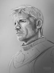 Study Jamie Lannister by Thalathis