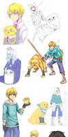 Adventure time SPAM. by tama-rai