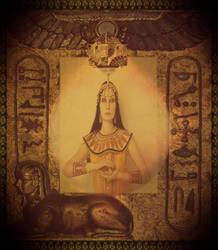 Cleopatra Contemplates by lisamarimer