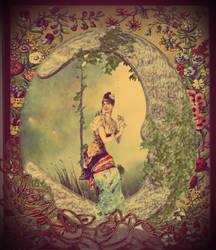 A Celestial Swing by lisamarimer