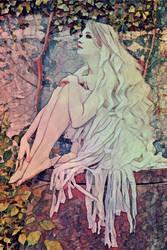 A Pensive Fairy by lisamarimer