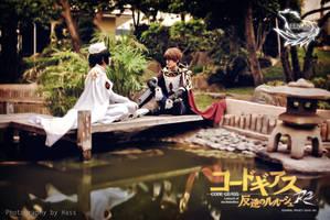 Lelouch and Suzaku by Shaaarix