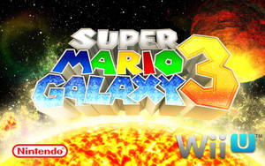 Super Mario Galaxy 3 Logo by fsuarez913