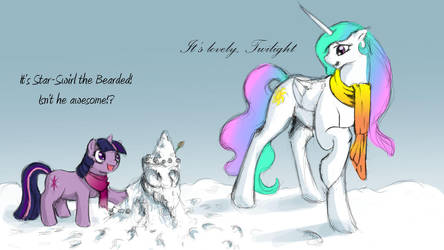 Snow Pony by SilFoe
