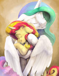 Reunion of the Suns by SilFoe