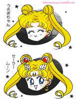Usagi/Moon by Mileyangel321