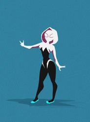 Spider Gwen by everdeer