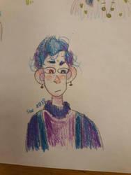 so i drew this last monday i think by mothmans-boyfriend