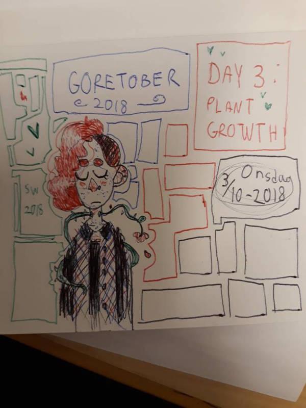 some goretober prompt by mothmans-boyfriend