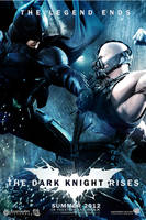 The Dark Knight Rises showdown poster by DComp