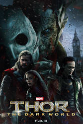 Thor: The Dark World poster by DComp