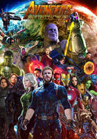 Avengers: Infinity War poster by DComp