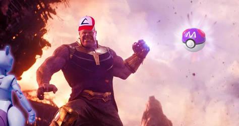 Thanos - Gotta catch em' all by DComp