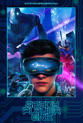 Ready Player One poster by DComp