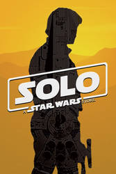 Solo: A Star Wars Story movie poster by DComp
