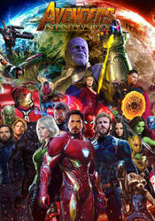 Avengers: Infinity War poster (revised) by DComp