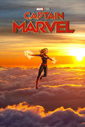 Captain Marvel poster by DComp